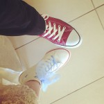 Our shoes for wedding. Photographers were crazy about taking photo of these. #inst_lf
